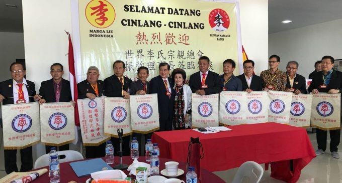 第十六届世界李氏宗亲总会理事长李振强, 应邀出席巴淡岛举办的全国李氏恳亲大会