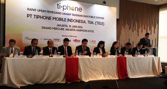 Saham Tiphone Mobile Indonesia Tbk (TELE.JK) Beranjak Naik di Sesi Ini