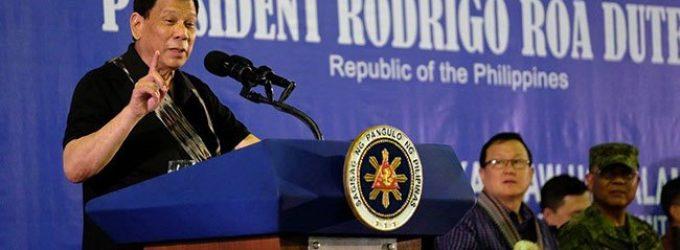 推行联邦制受阻 菲律宾总统:可以学下一国两制