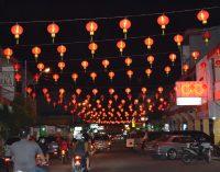13.800 Lampion Merahkan Kota Singkawang Unruk Menyambut Imlek