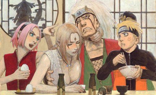 Mangaka 'Blade of the Immortal' Sulap Naruto Cs Tampil Lebih Beda