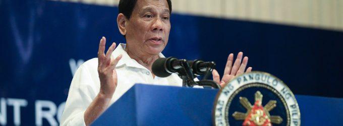 Rodrigo Duterte : Basis Pangkalan Militer China Ada di Laut China Selatan untuk Melawan AS, bukan Filipina