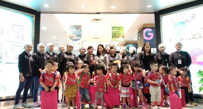 泗水小星星天赋幼儿园  参观泗水皇家大商场 克拉媒体书店