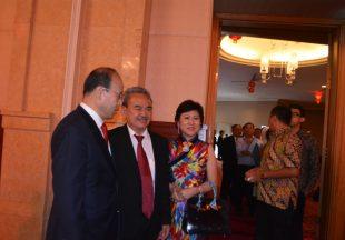 中国驻印尼大使肖千到任招待会图片辑
