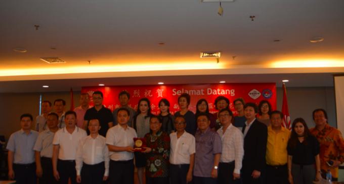 """商讨9月中旬""""惠货全球行""""印尼展会事宜 惠州市代表团一行访问印尼华裔总会"""