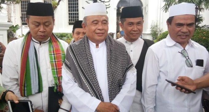 南加里曼丹来自几个穆斯林组织的39位长老 雅省总统府拜访佐科维总统