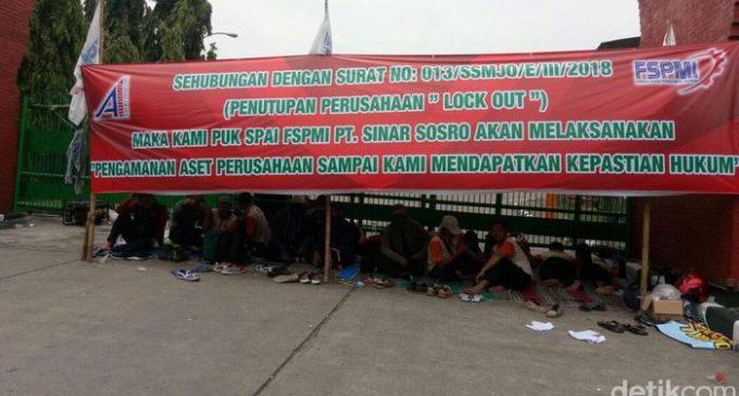 Teh Sosro 工厂拒绝员工成立工会引起罢工和示威 工厂暂停生产
