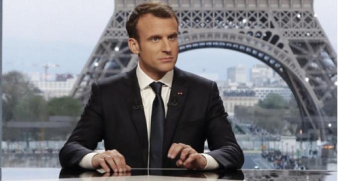 法国对叙动武后第2天 马克龙:我将于5月访问俄罗斯