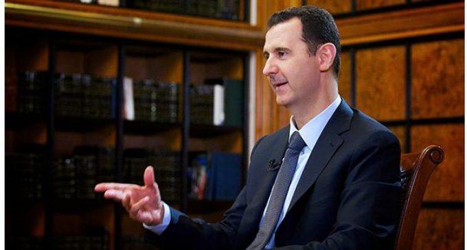 叙利亚总统: 美主导的对叙军事打击说明西方图谋失败