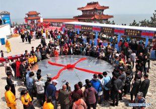 Festival Makan Besar di Shandong, China