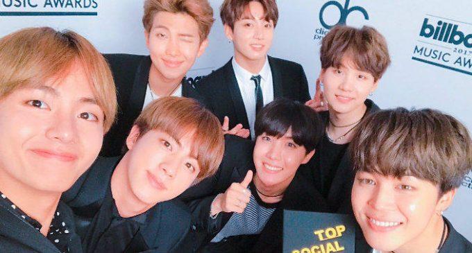 K-Pop Group BTS Memenangkan Polling Majalah TIME 100 Tahun 2018