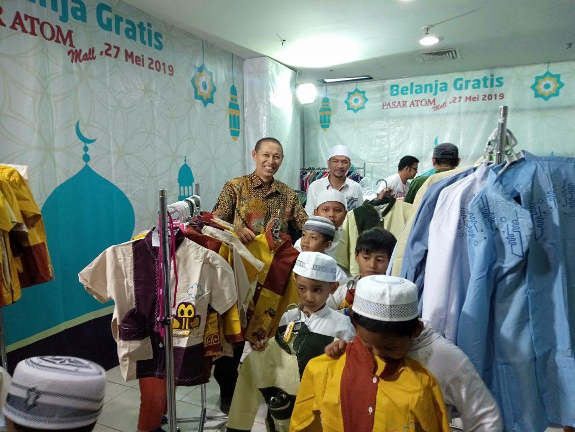 berkah ramadhan 250 anak yatim belanja gratis dan belajar