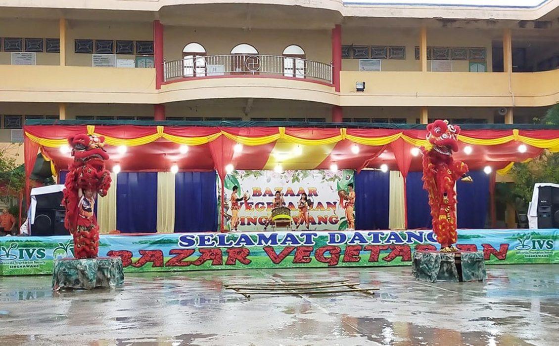 Pemkot Singkawang Apresiasi Bazar Vegetarian - Harian
